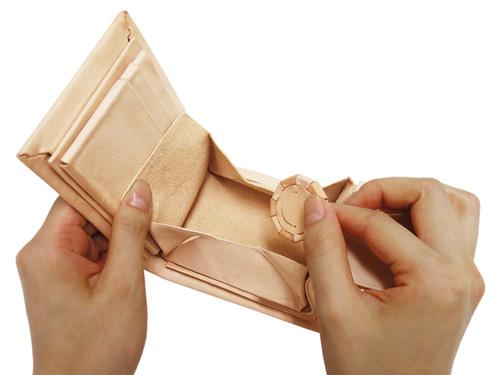 Kit 小銭・カード入れパーツ 共通 縦ボックス型