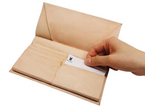 Kit 札・カード入れパーツ 長財布用 ユニークパターン型