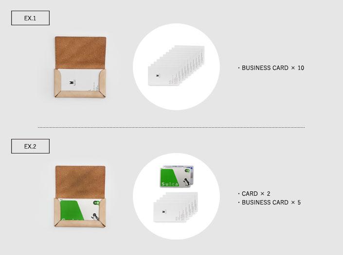 カードケースの収納例