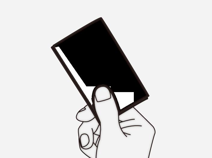 限定カードケースのイラスト