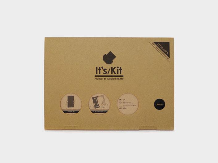 限定札ケース(長財布)のパッケージ