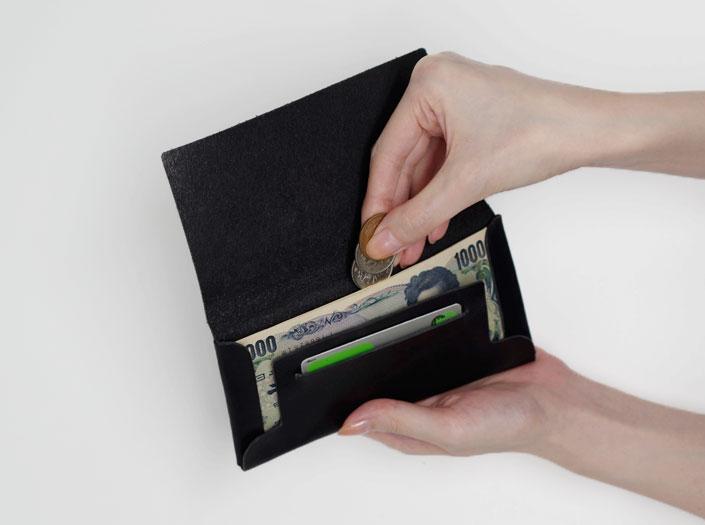 小銭の収納イメージ