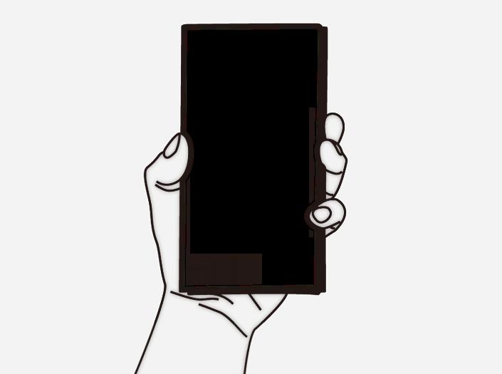 限定札ケース(長財布)のイラスト