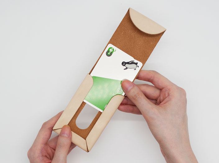 パスケースの使用イメージ