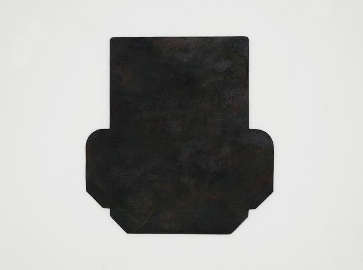 迷彩染めディープグリーン:カードケースの表面