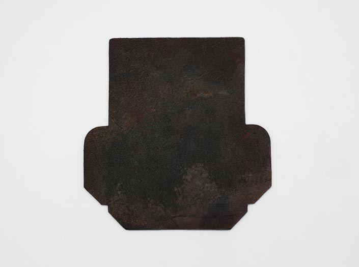 迷彩染めディープグリーン:カードケースの裏面