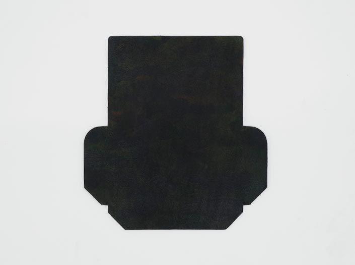 迷彩染めグリーン:カードケースの表面
