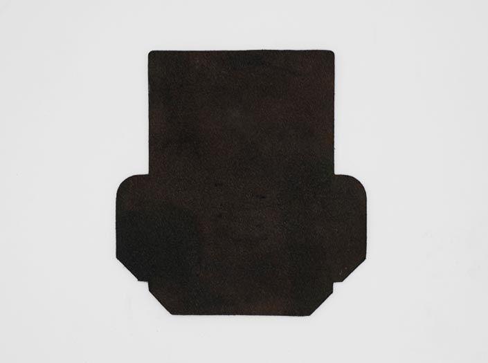 迷彩染めグリーン:カードケースの裏面