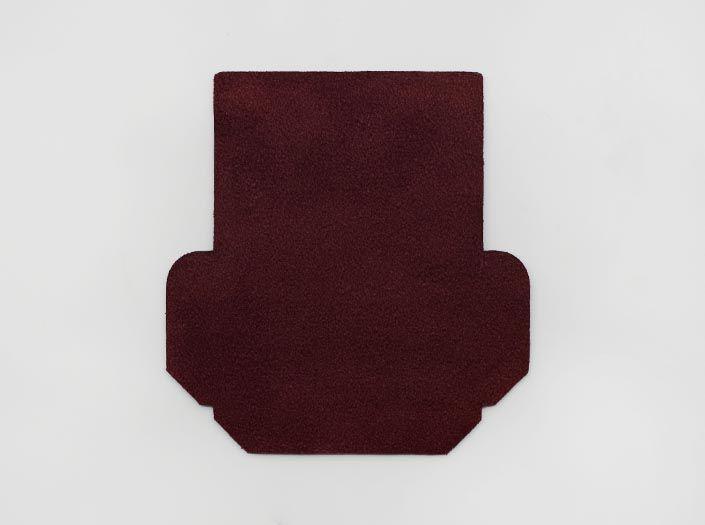 製品ムラ染めディープパープル:カードケースの裏面