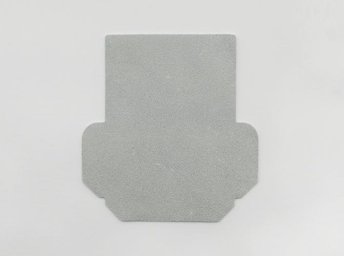 ホワイトレザー:カードケースの裏面
