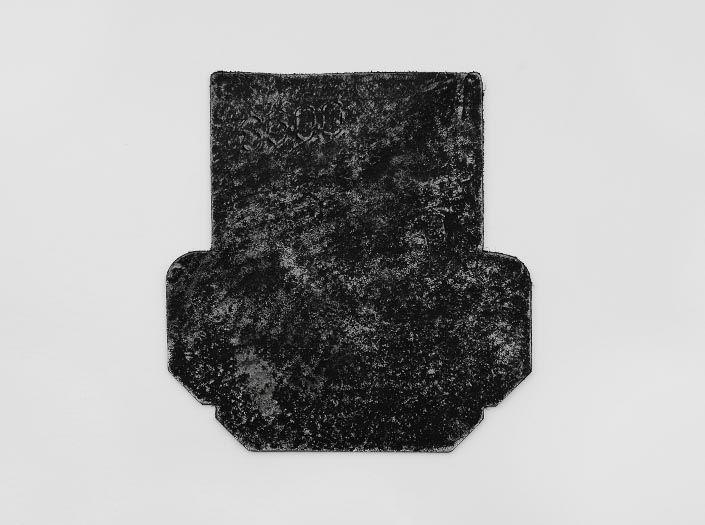 ホワイト×ブラック「0098」:カードケースの表面