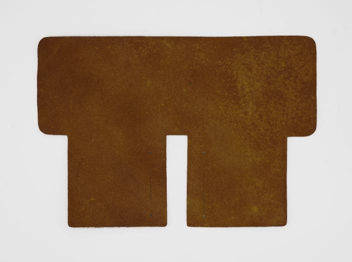 製品染めイエロー:札ケース(二つ折り財布)の裏面