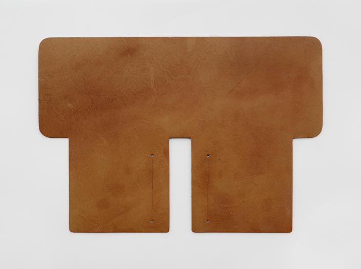 ハードレザー+オイル仕上げ:札ケース(二つ折り財布)の表面