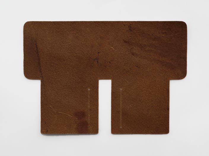 ハードレザー+オイル仕上げ:札ケース(二つ折り財布)の裏面