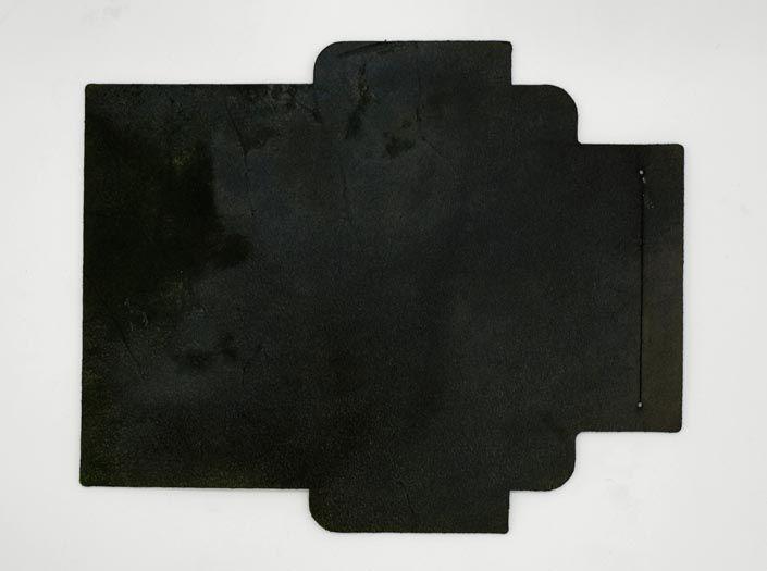 迷彩染めグリーン:札ケース(長財布)の裏面