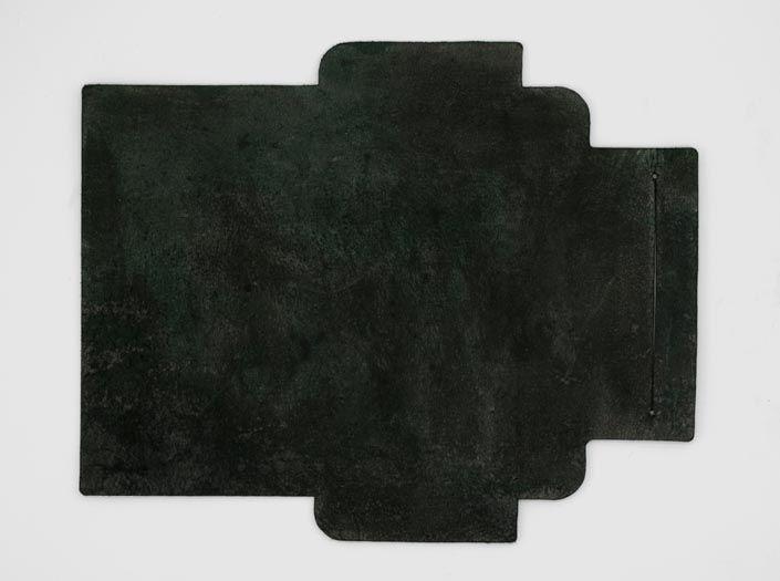 迷彩染めディープグリーン:札ケース(長財布)の裏面
