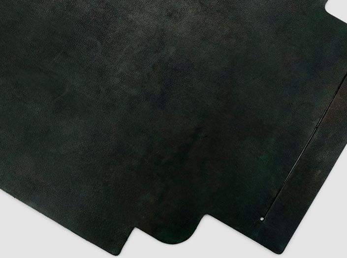 迷彩染めディープグリーン:札ケース(長財布)のディテール