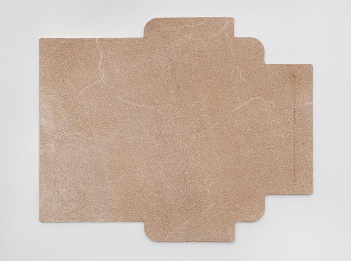 ヌメ革タンロー:札ケース(長財布)の裏面