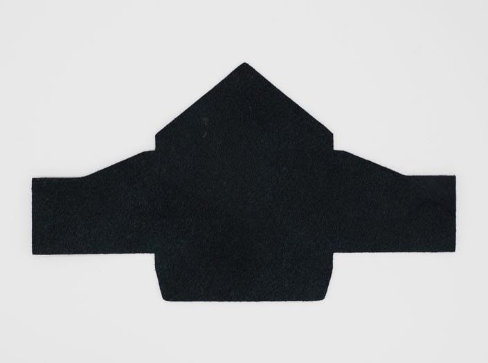 製品染めスペースブルー:マルチケースの裏面