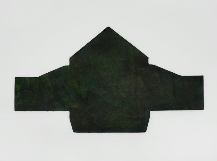 迷彩染めグリーン:マルチケースの表面