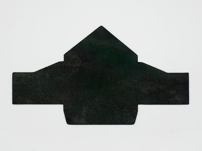製品ムラ染めディープグリーン:マルチケースの裏面
