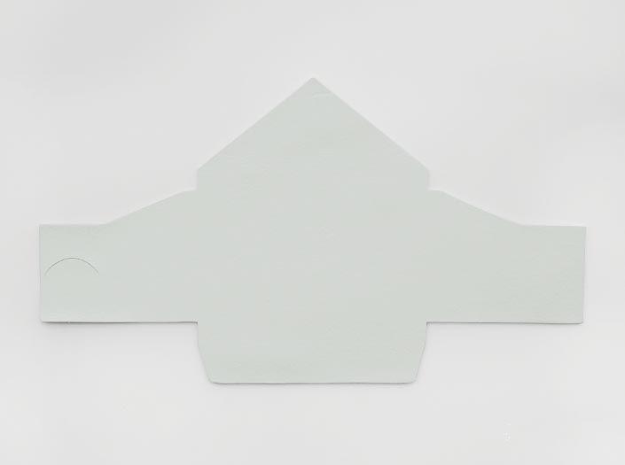 ホワイトレザー:マルチケースの表面