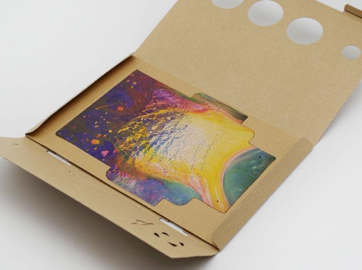 AOHPAの長財布のパッケージ収納イメージ