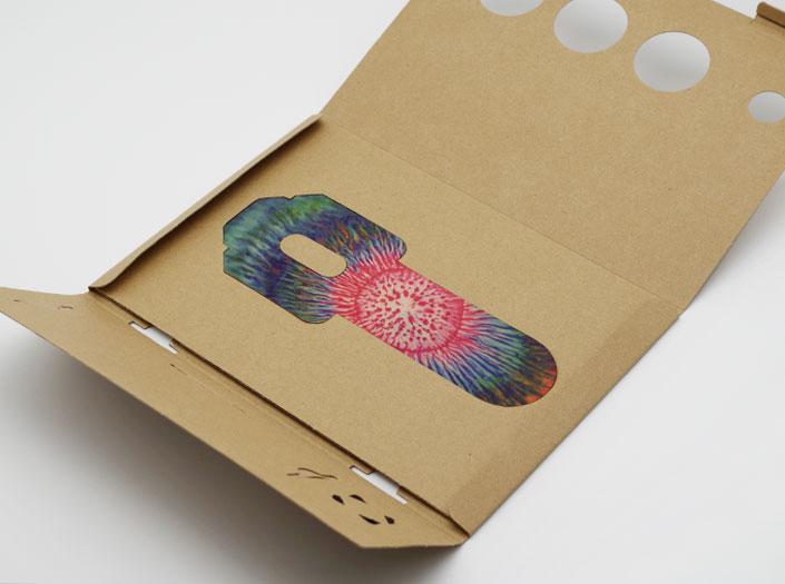 AOHPAのパスケースのパッケージ収納イメージ