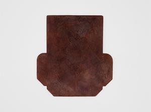 製品染めアンティークブラウン+ワックス仕上げ:カードケース