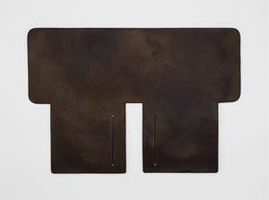 製品ムラ染めブラウン:札ケース(二つ折り財布)
