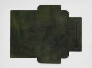 迷彩染めグリーン:札ケース(長財布)